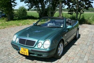 CLK 320 cabriolet  met 36000 originele Km