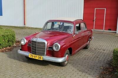 Mercedes 190 A Ponton