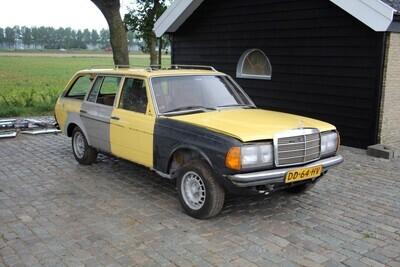 Mercedes W 123  300 TD