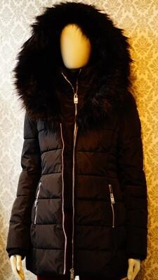 Manteaux Point Zero Noir--Black Point Zero Winter Jacket