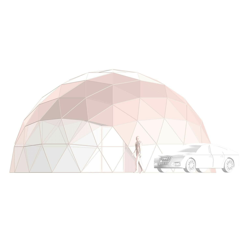 Геокупол GeoDome10