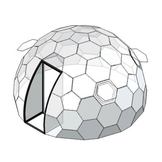 Прозрачный купол SotaDome4.3