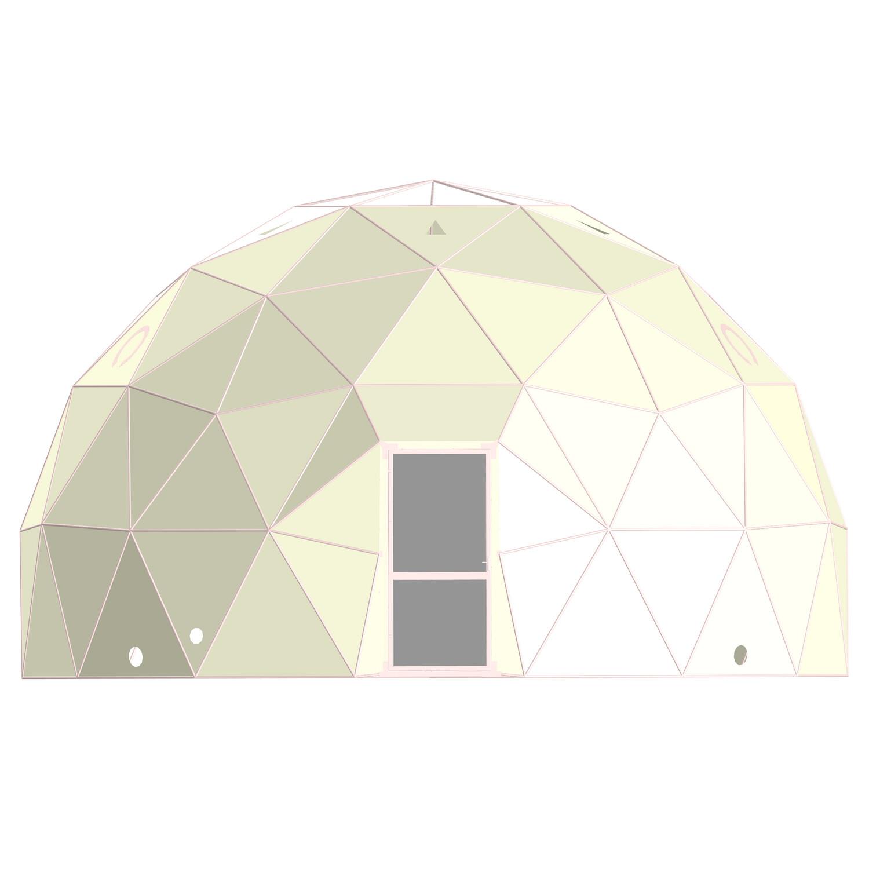 Каркасный планетарий 8m