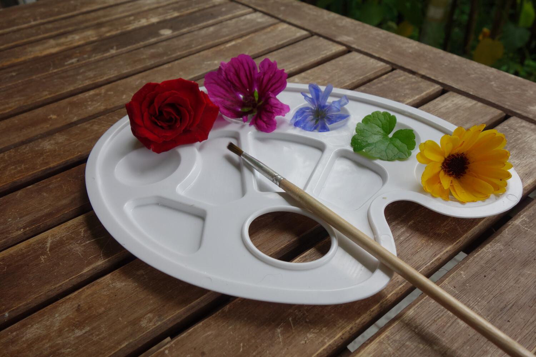 """Ferienkurs """"Malen mit Pflanzenfarben"""""""