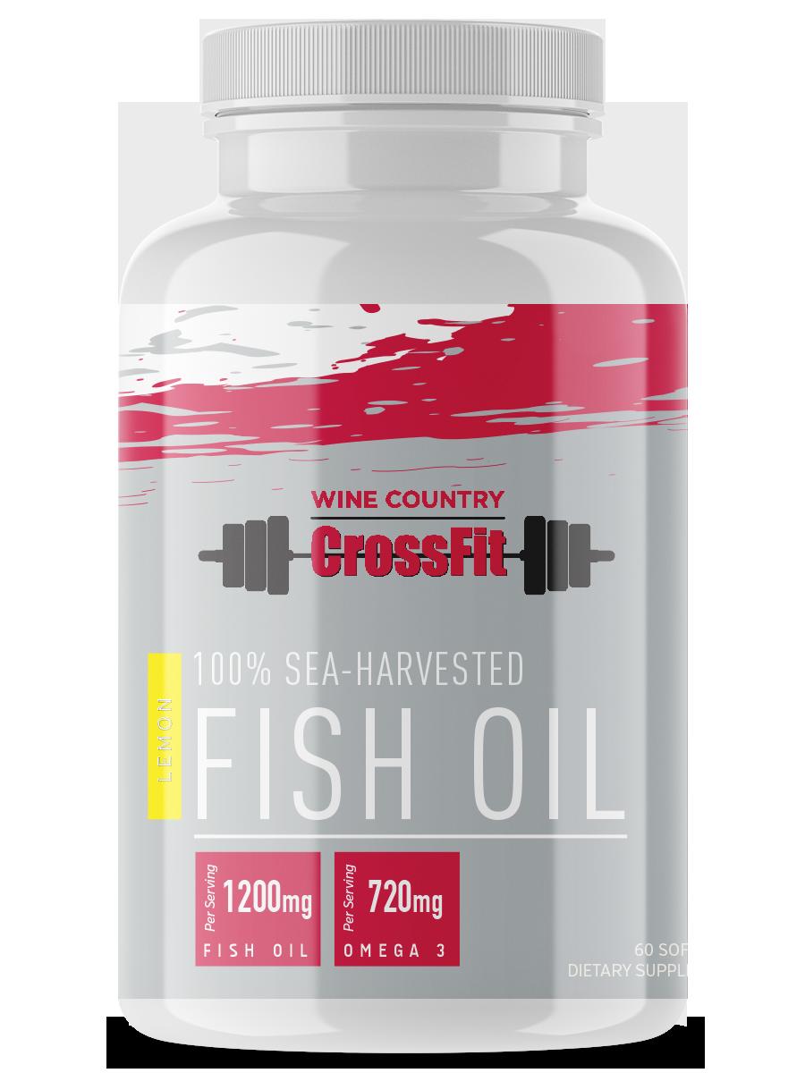 Sea Harvested Fish Oil