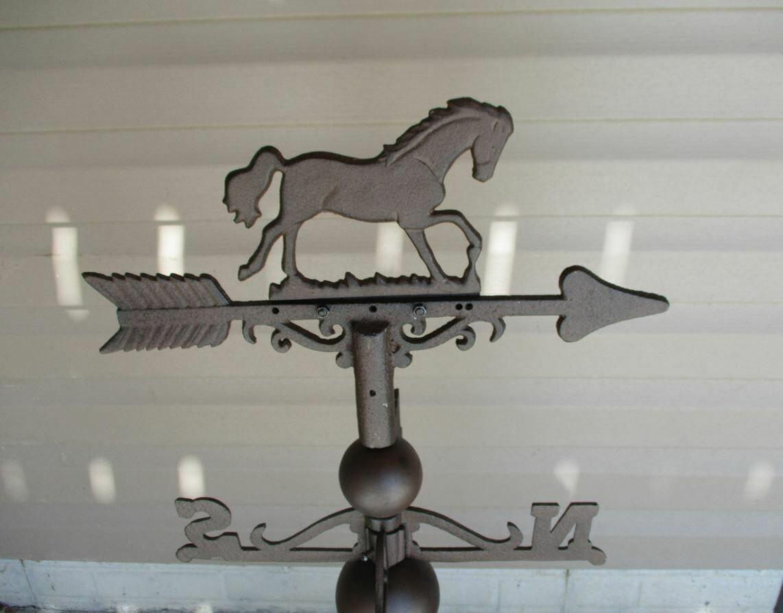 CAST IRON HORSE WEATHERVANE!