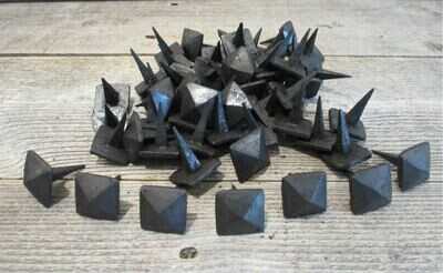 Black Hand Forged Iron Clavos 1