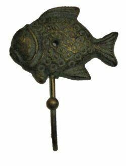 CAST IRON FISH HOOKS