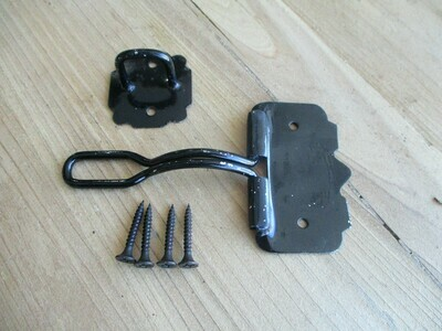 Black Wire Hasp Locks
