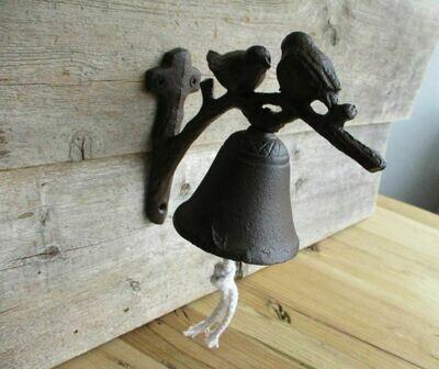 CAST IRON BIRD DINNER BELL