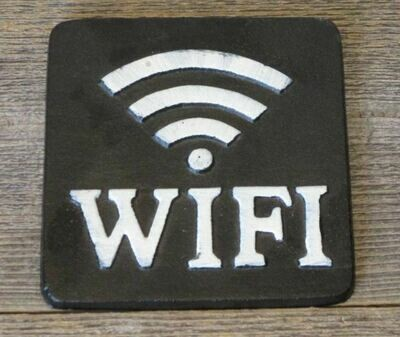 CAST IRON WIFI SIGNS