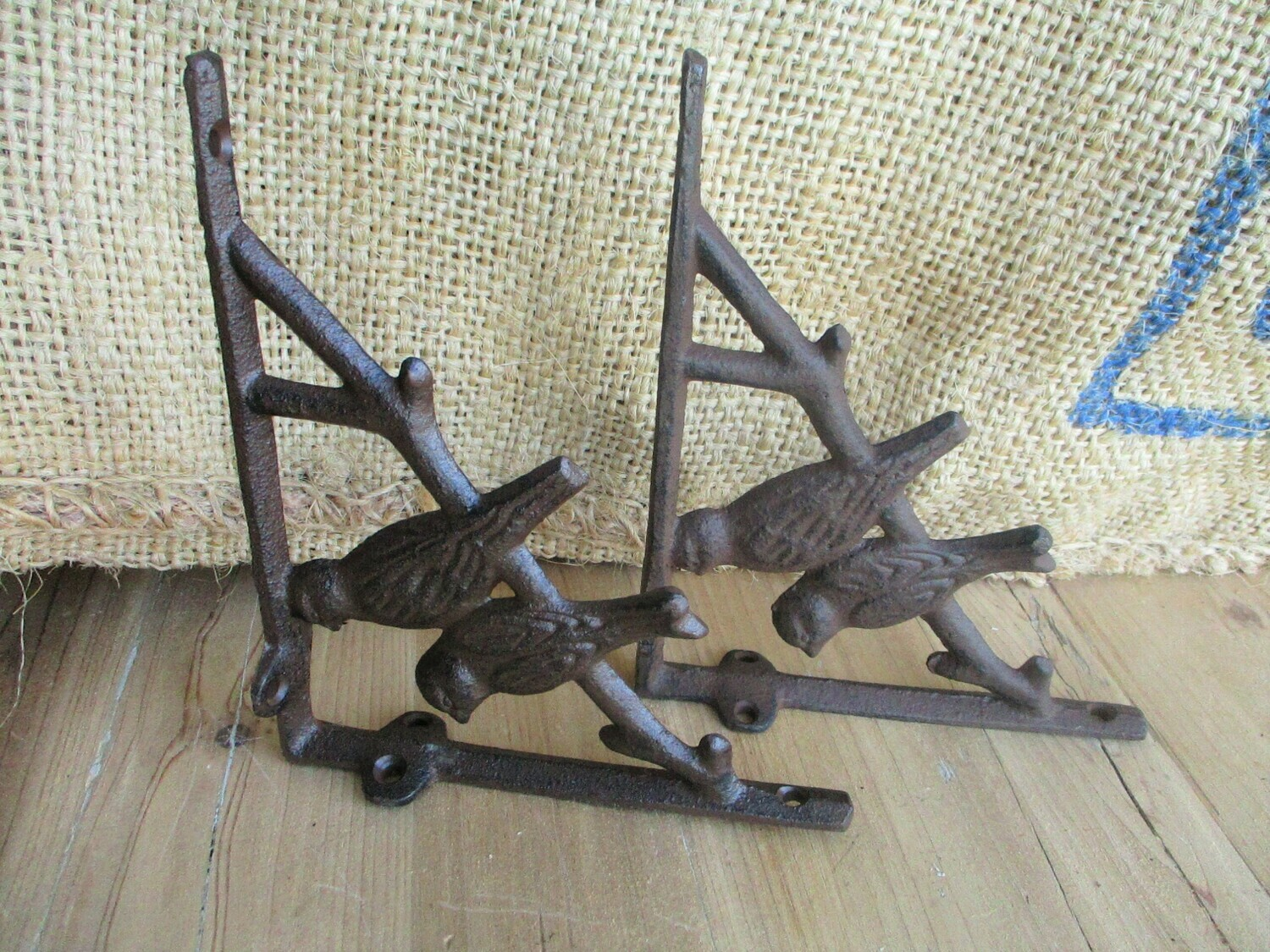 CAST IRON BIRD BRACKETS 7