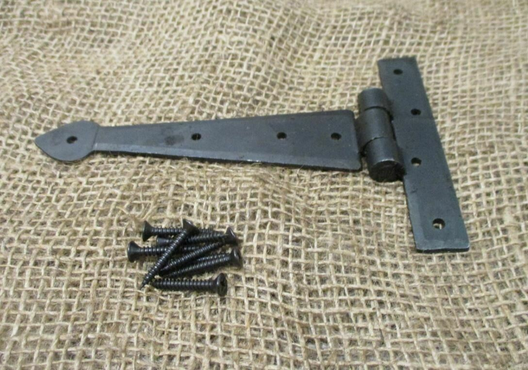 HAND FORGED DOOR / CABINET HINGES 5 3/4