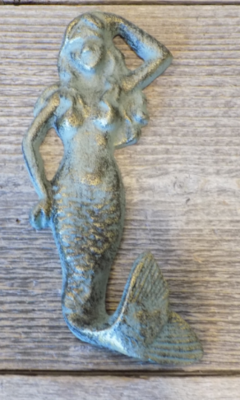 CAST IRON MERMAID HOOKS 5 3/4