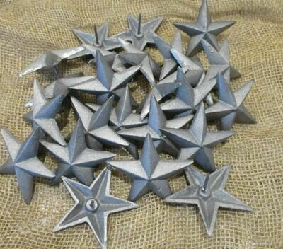 RAW CAST IRON STAR NAILS/CLAVOS 3 1/2