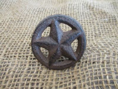 TEXAS STAR DRAWER PULLS WITH SCREWS!