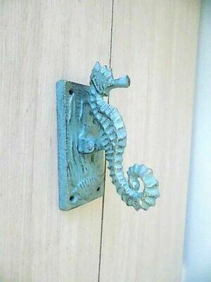 SEAHORSE DOOR KNOCKERS