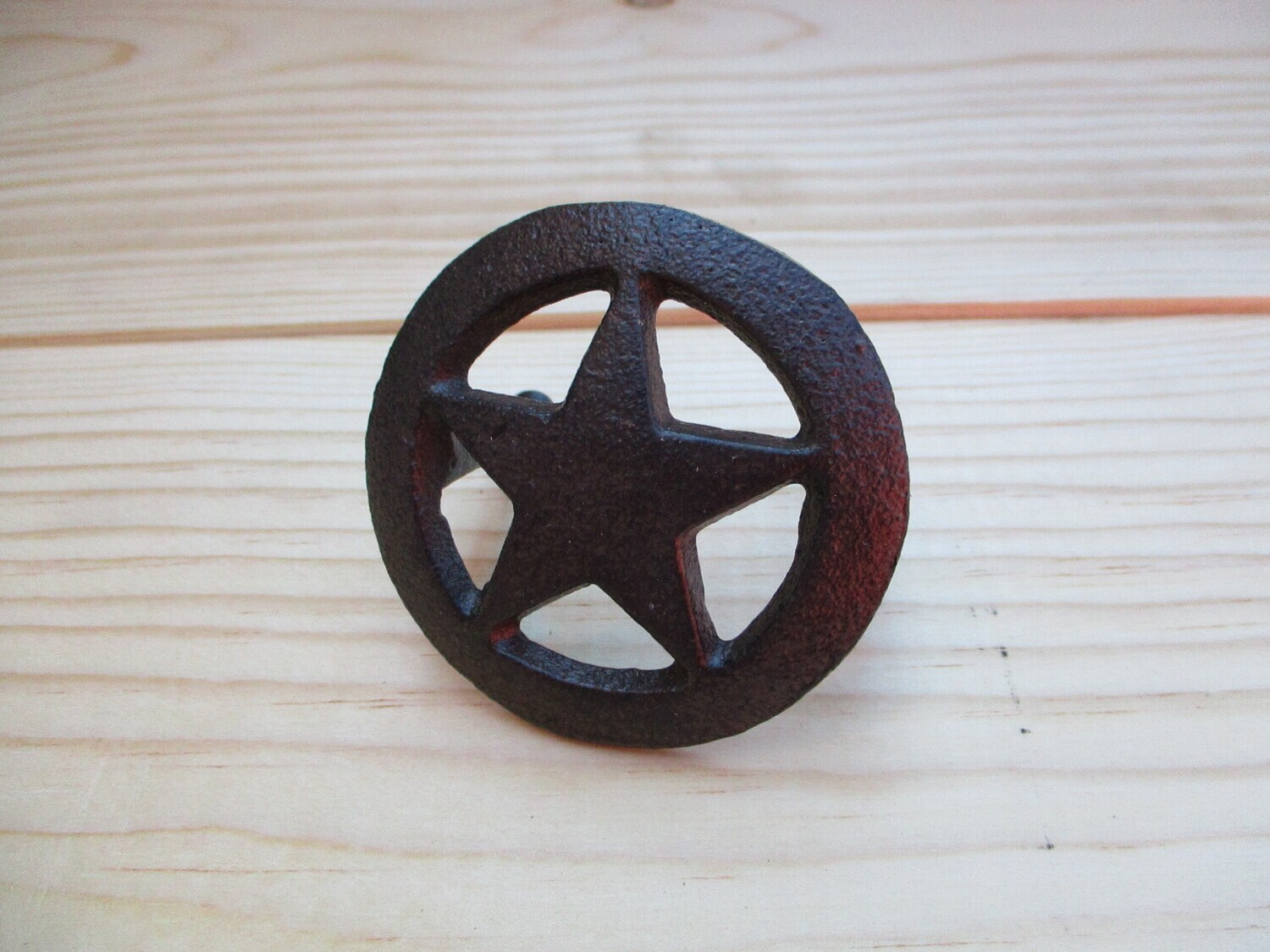TEXAS STAR DRAWER PULLS WITH SCREWS
