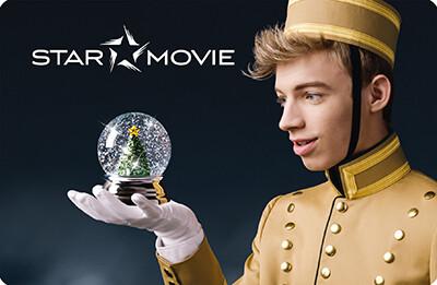 """Star Movie - Gutscheincard """"Weihnachtsmotiv"""""""
