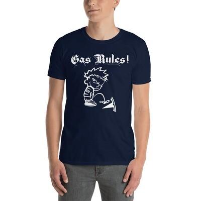 Gas Rules! T-Shirt (Calvin White)