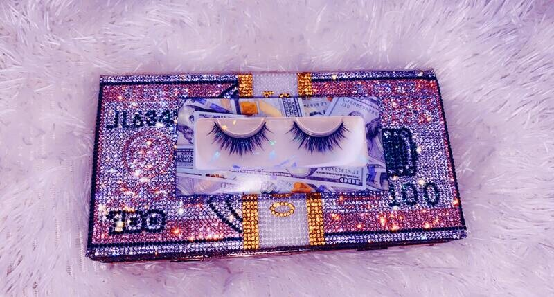 Money   Lashes By Queen Maq'