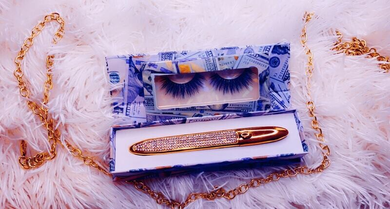 Cash   Lashes By Queen Maq'