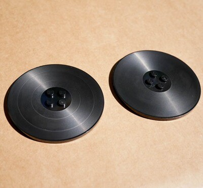 2 x Custom Grooved Discs