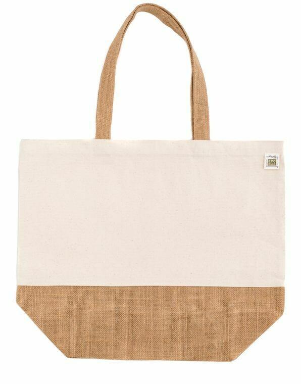 Brown & White Bag