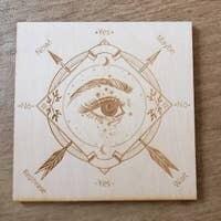 Square Eye Pendulum Board