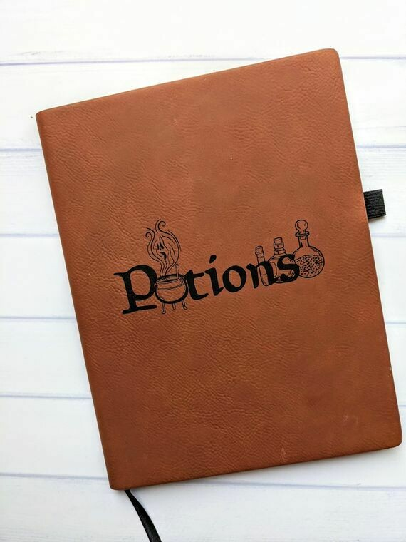 """""""Potions"""" Notebook"""