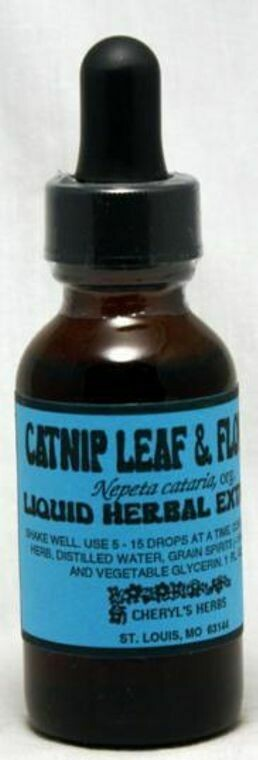 Catnip Leaf & Flower Liquid Extract