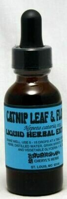 Catnip Leaf & Flower Liquid Extract