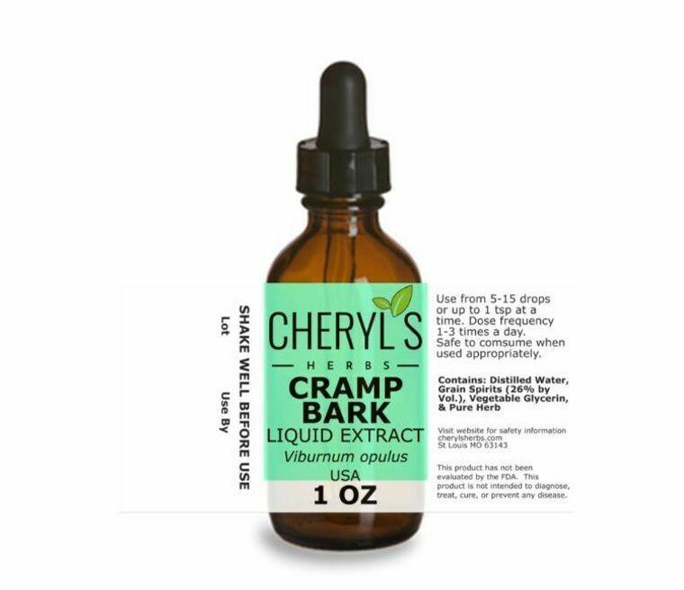 Cramp Bark Liquid Extract