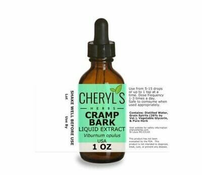 Cramp Bark Liquid Extract