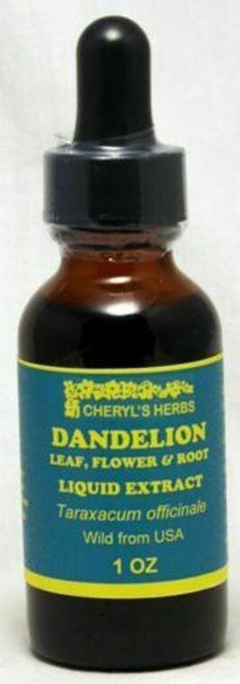 Dandelion Leaf & Root Liquid Extract
