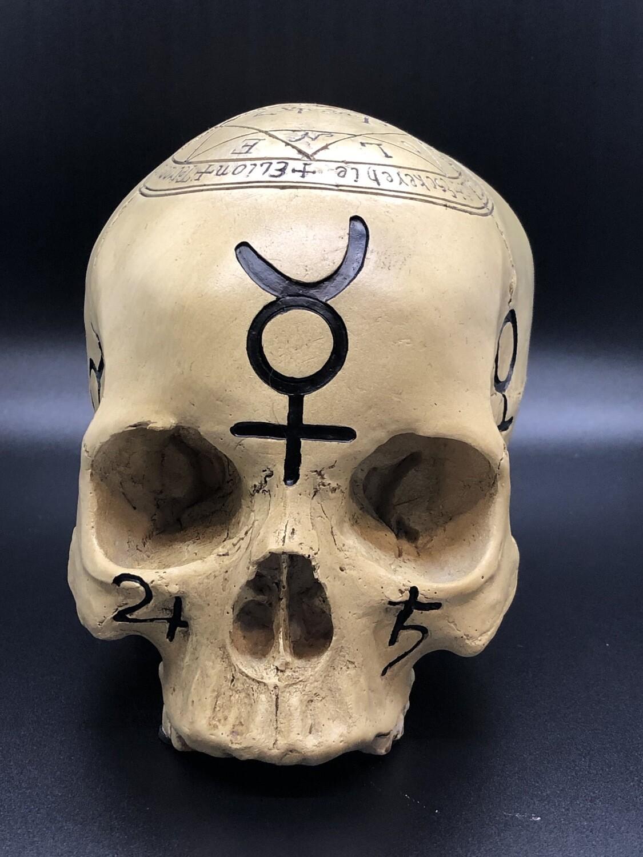 Pentagram Skull