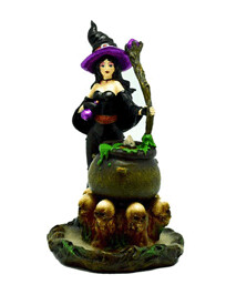 Witch Back Flow Incense Burner