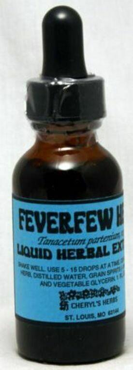 Feverfew Herb Liquid Extract