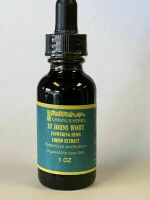 St. John's Wort Flowering Herb Liquid Extract