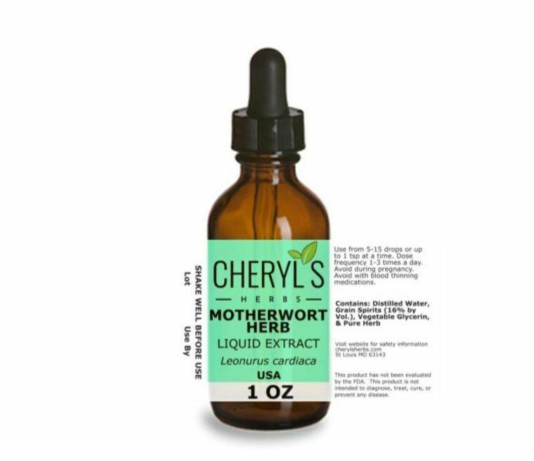 Motherwort Herb Liquid Extract
