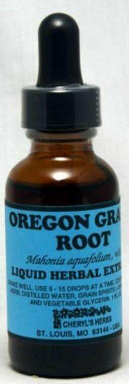 Oregon Grape Root Liquid Extract