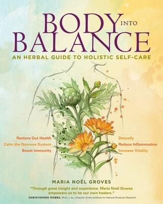 Body into Balance Book