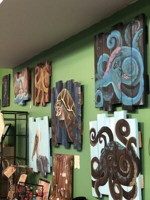 Wood Plank Paintings