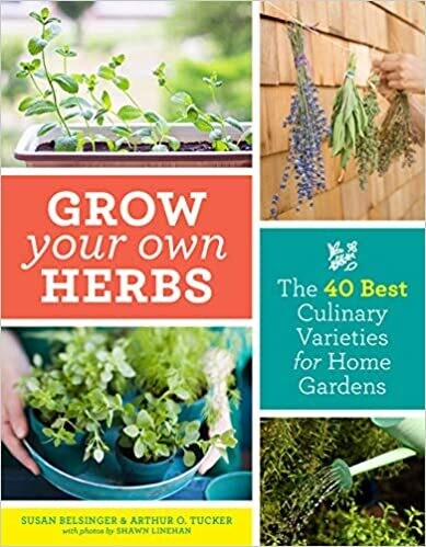 Grow Your Own Herbs Book
