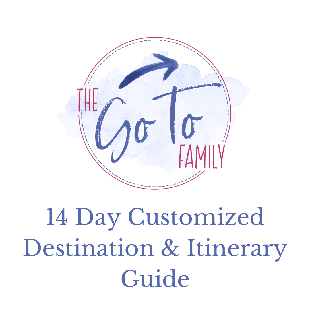 14 Day Customized Destination & Itinerary Guide