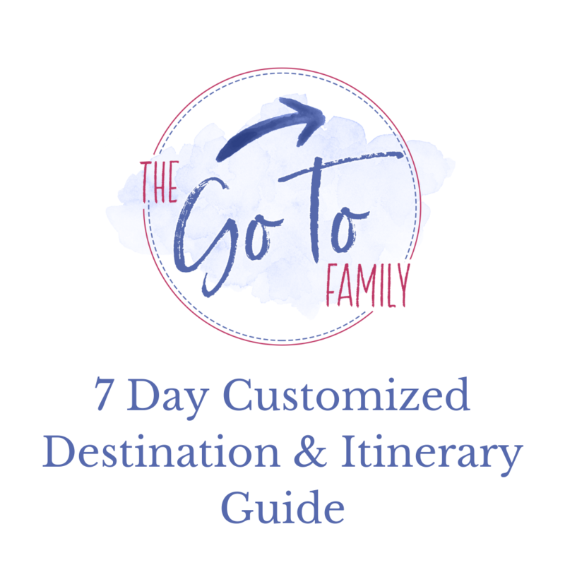 7 Day Customized Destination & Itinerary Guide