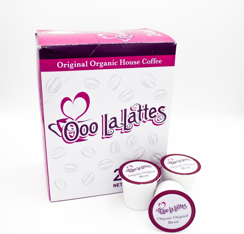 K - Cups ( 24 Pack )  -   Original Organic House Coffee
