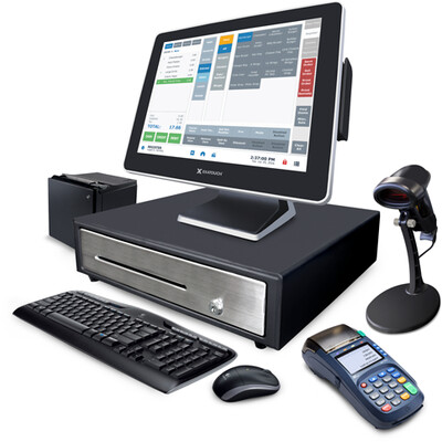 Exatouch Full POS system with Zero fee processing