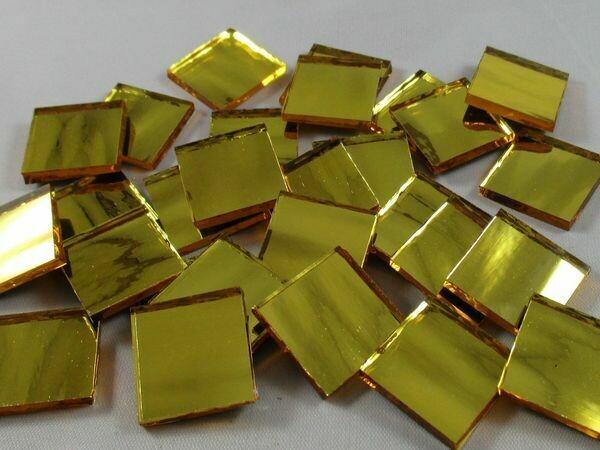 Gold Water Mirror Tiles