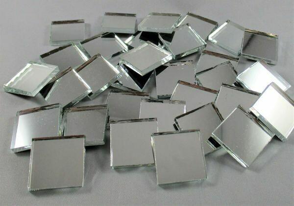 Silver Mirror Tiles